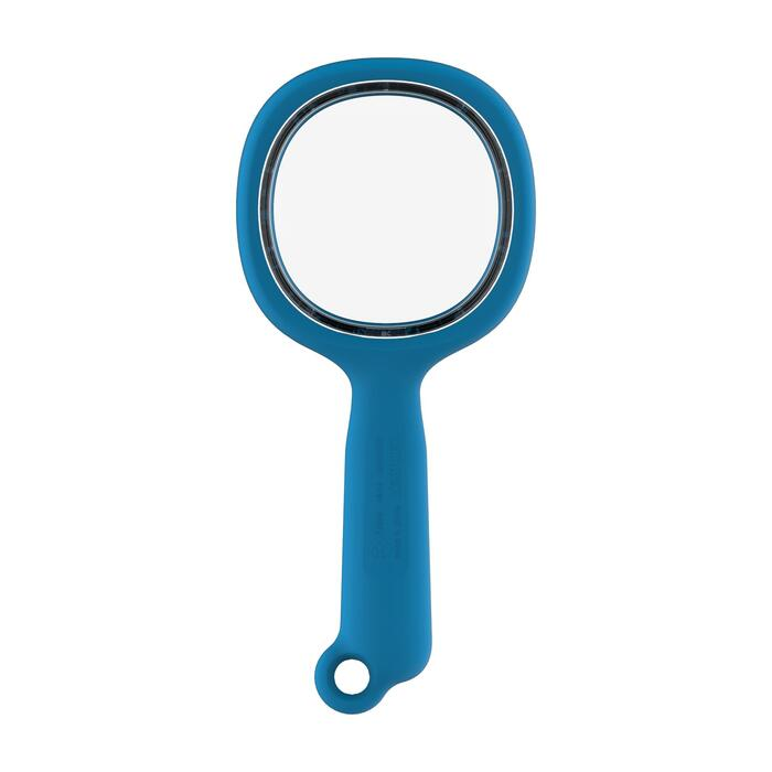Child's hiking magnifying glass, 3x magnification, blue