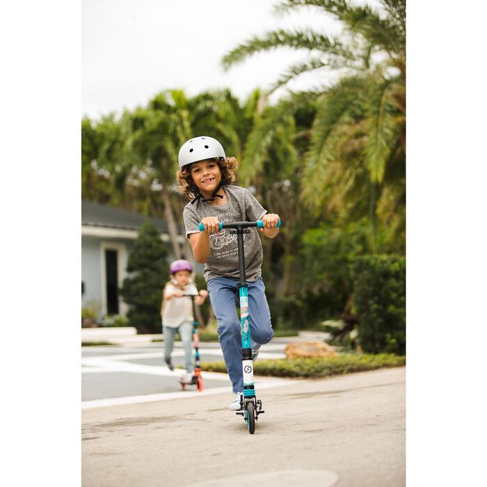 Skaterhelm Play 5 für Inliner Skateboard Scooter grau