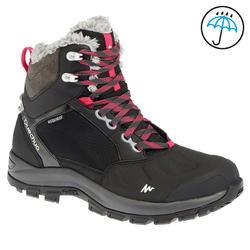 Hoge wandelschoenen Forclaz 500 warm en waterdicht dames