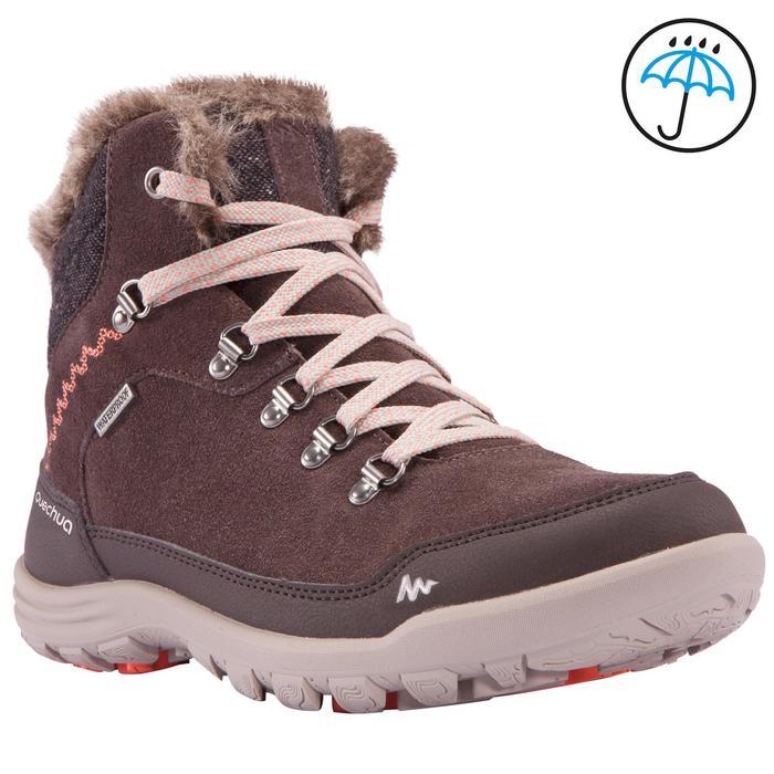 Chaussures de randonnée neige femme SH500 chaudes et imperméables - 1055582