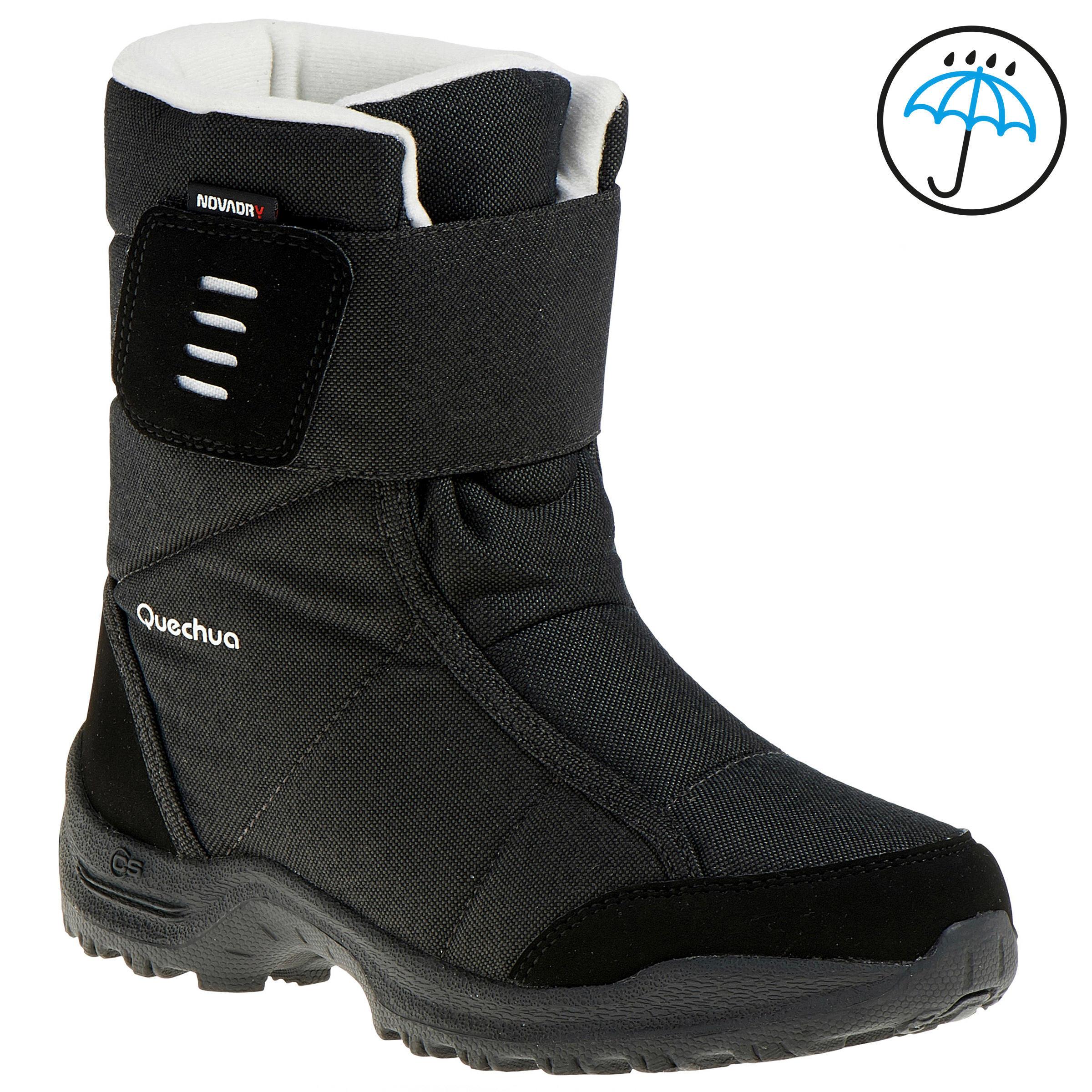 Quechua Laarzen voor wandelen in de sneeuw kinderen SH500 warm/waterdicht violet thumbnail