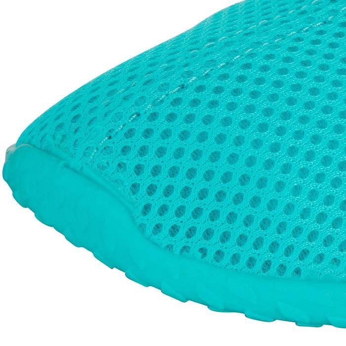 Chaussures aquatiques Aquashoes 100 turquoises