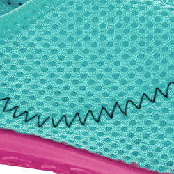 Kids Aquashoes 100 - Turquoise and Pink