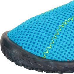 Waterschoenen Aquashoes 100 voor kinderen lichtblauw