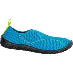 Escarpines Camgrejeras Zapatillas Acuáticas Río Snorkel Subea SNK100 Niño Azul