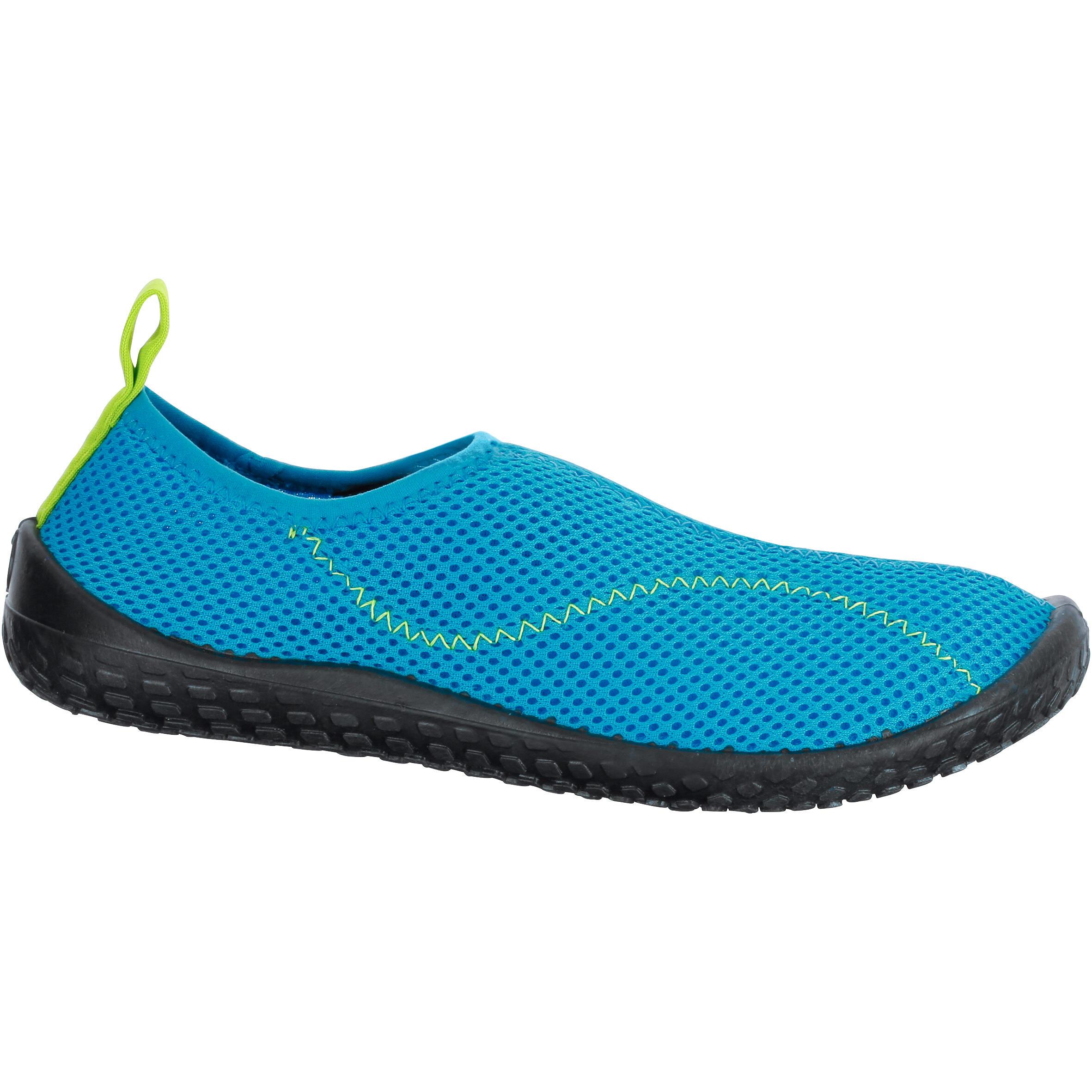 Tenis acuáticos Aquashoes 100 niños azul claro