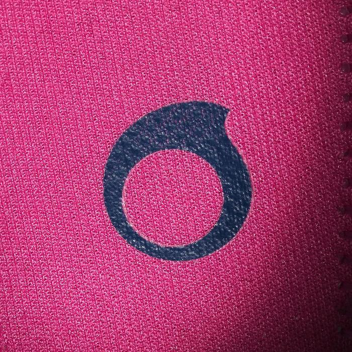 Aquaschuhe 100 Kinder türkis/rosa