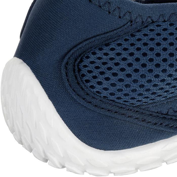 Chaussures aquatiques Aquashoes 100 noires turquoises - 1055946