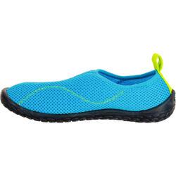 Waterschoenen voor kinderen Aquashoes 100 lichtblauw