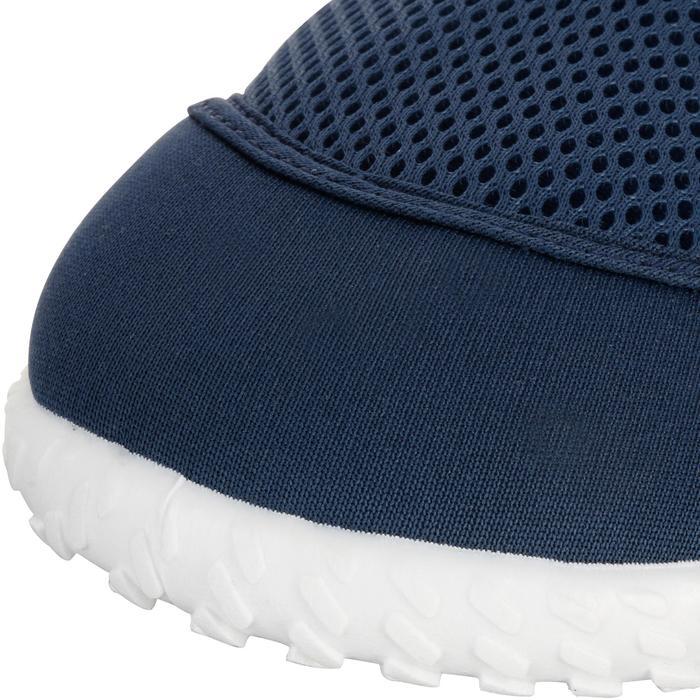 Chaussures aquatiques Aquashoes 100 noires turquoises - 1055970