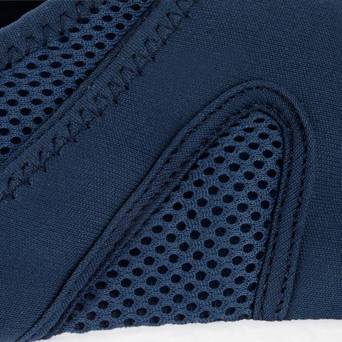 Chaussures aquatiques Aquashoes 100 noires turquoises - 1055976