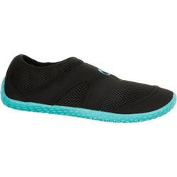 100 Aquashoes - Black Turquoise