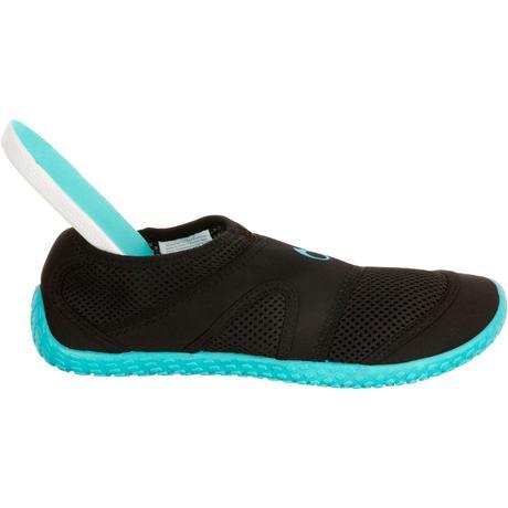 668037946ccc0 ... chaussures aquatiques aquashoes 100 noires turquoises tribord