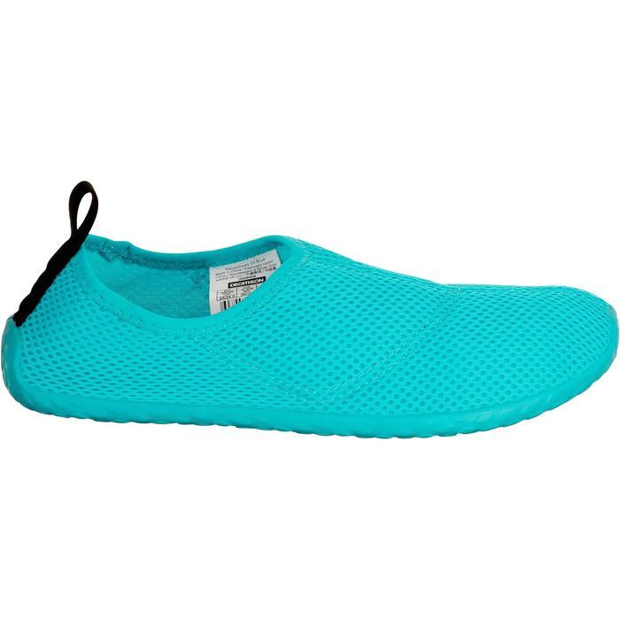 Zapatillas acuáticas Aquashoes 100 azul turquesa
