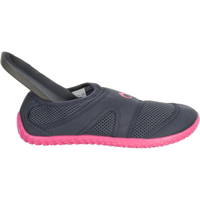 Giày lặn Aquashoes 100 cho nữ- Xám