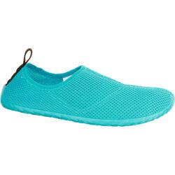 Escarpines Cangrejeras Zapatillas Acuáticas de Snorkel Subea SNK100 Adulto Azul