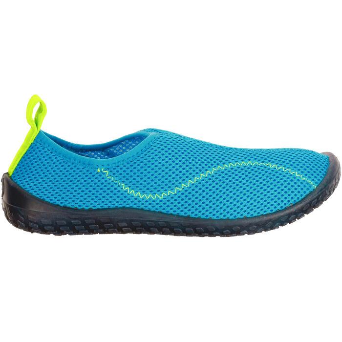Aquaschuhe 100 Kinder hellblau
