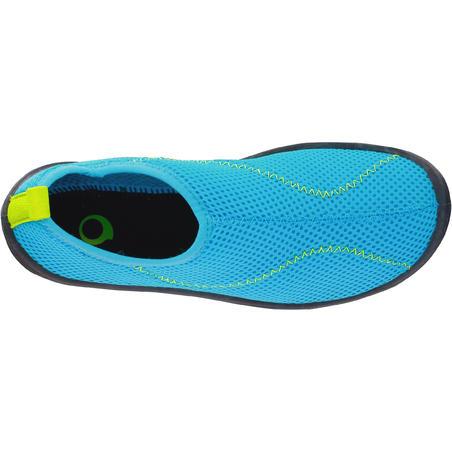 Kids Aquashoes 100 - Light Blue