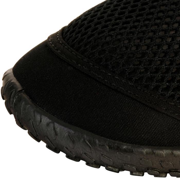 Aquaschuhe 500 schwarz/rot