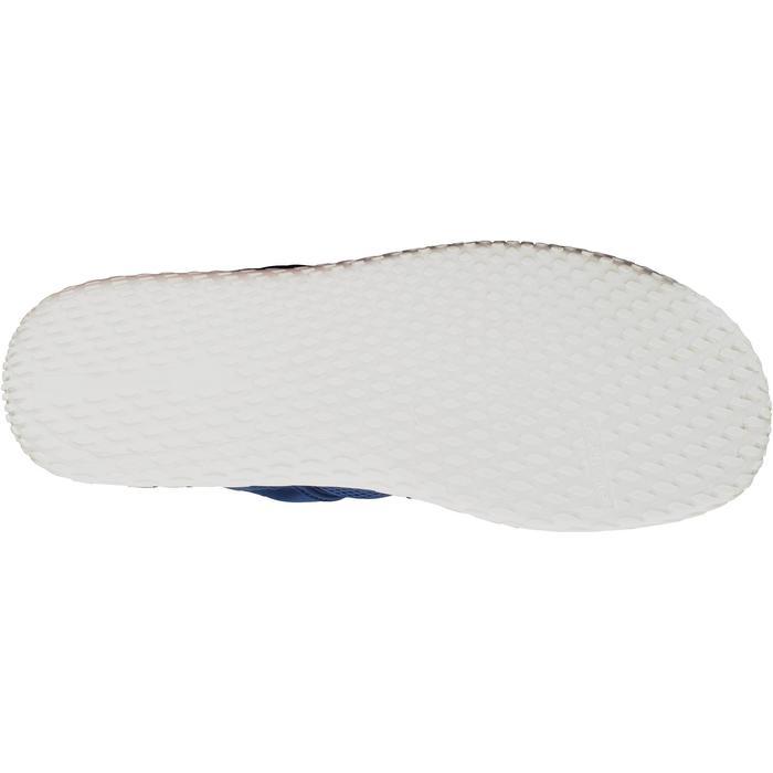 Chaussures aquatiques Aquashoes 100 noires turquoises - 1056056
