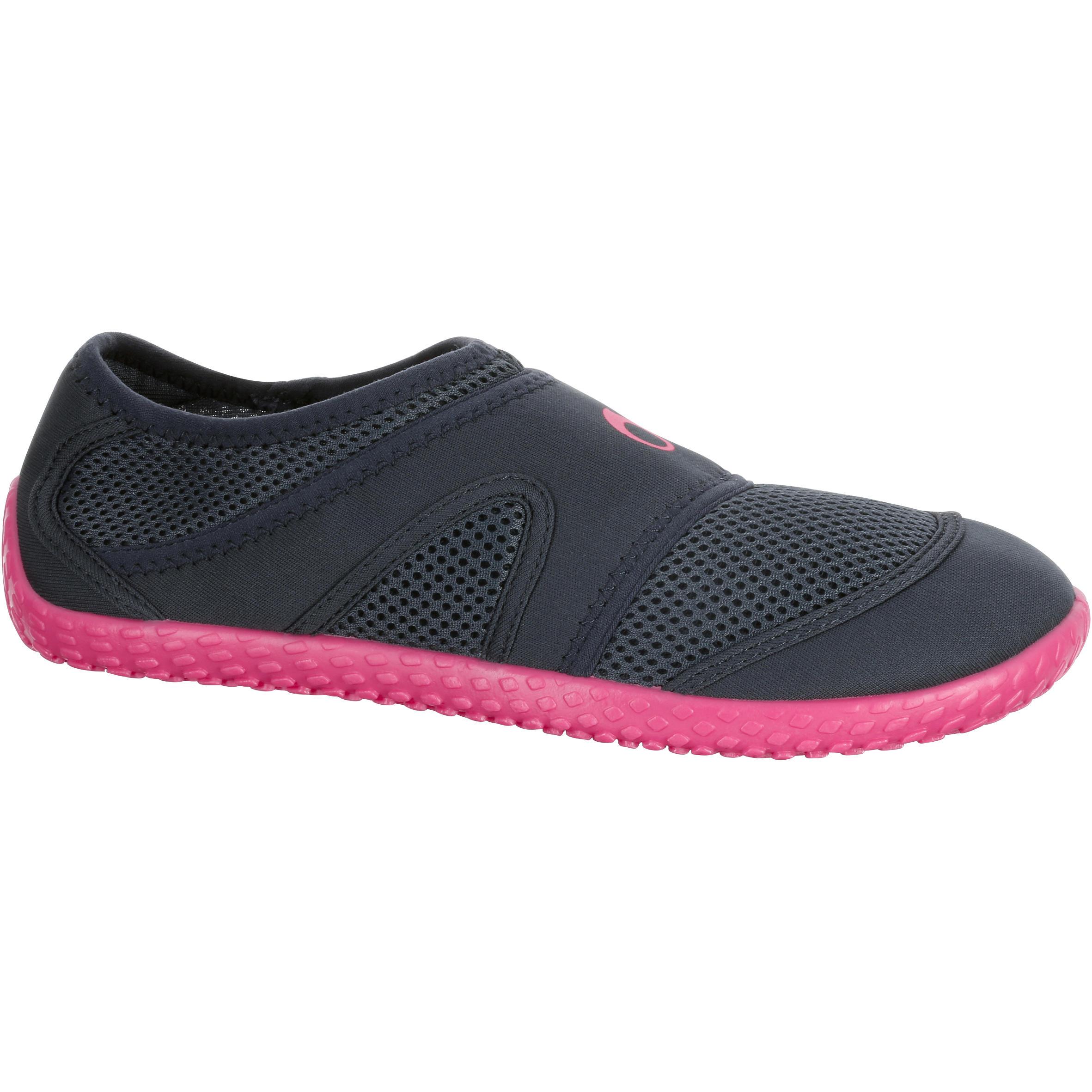 100 Sepatu Aquashoes - Abu Abu Pink