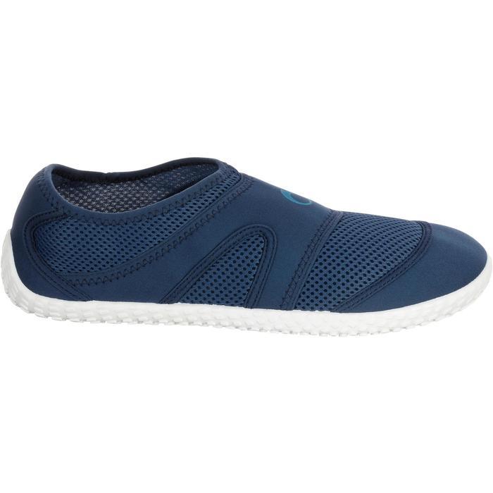 Chaussures aquatiques Aquashoes 100 noires turquoises - 1056063