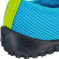 Chaussures aquatiques Aquashoes 100 enfant bleu clair