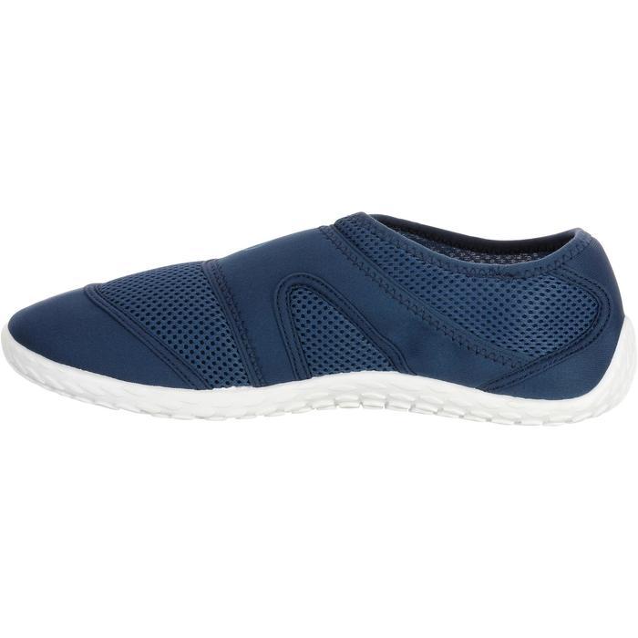 Chaussures aquatiques Aquashoes 100 noires turquoises - 1056084