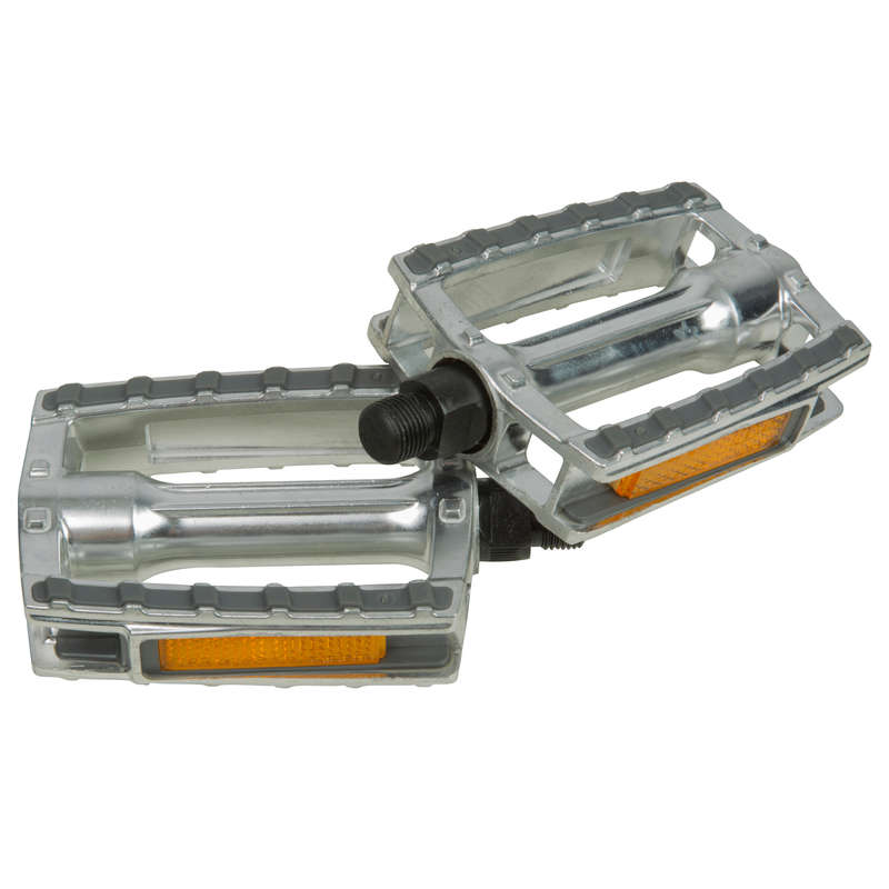 BIKE PEDALS Cycling - City 500 Leisure Pedals B'TWIN - Bike Parts