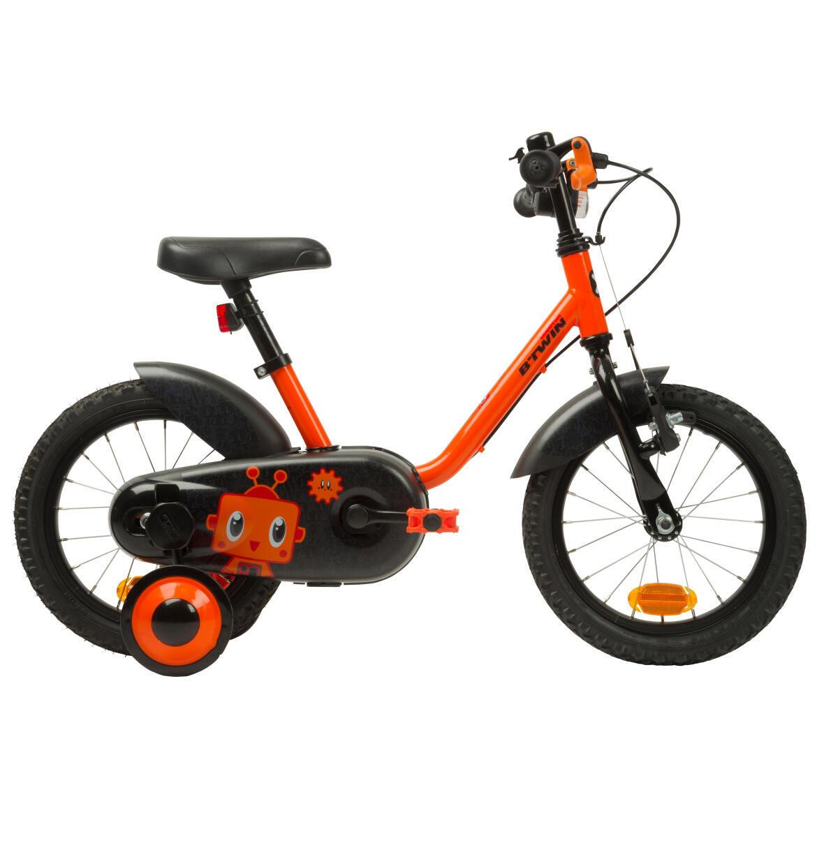 Fahrrad_14pouces_enfant_decathlon_btwin_ORANGE