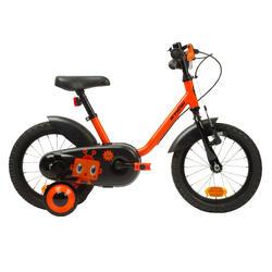 Kinderfahrrad 14Zoll Robot Schwarz/Orange