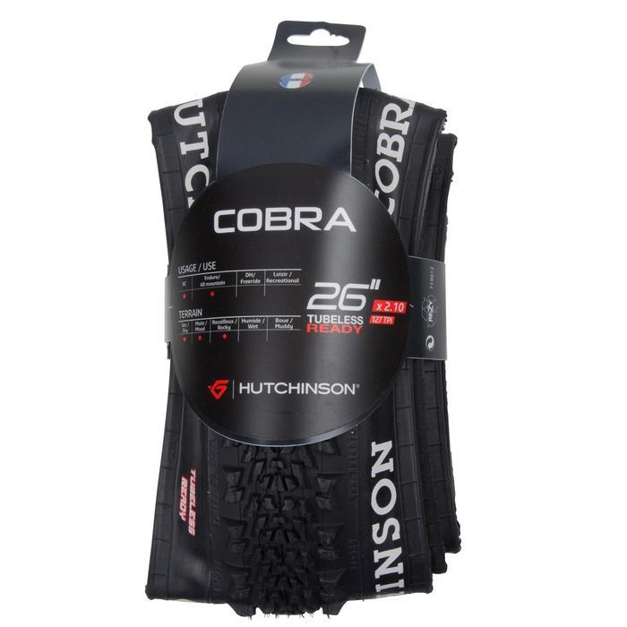 MTB-BAND Cobra 26x2.10 Tubeless Ready ETRTO 50-559
