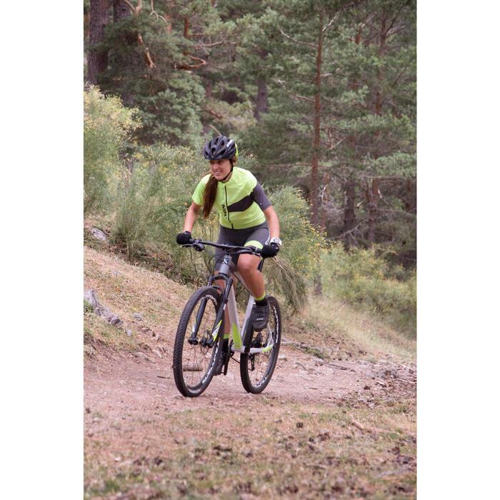 "Rockrider 920 27.5"" Mountain Bike - Grey/Lime - 1056408"
