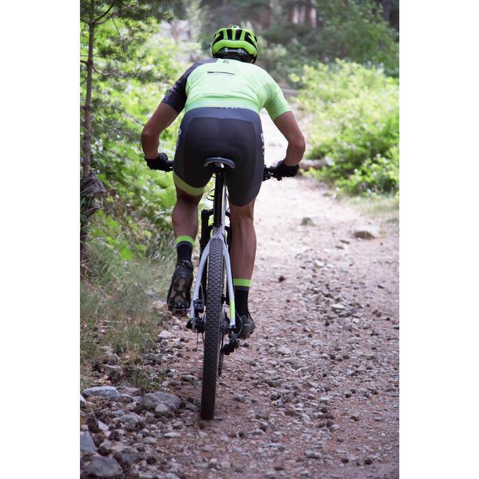 "Rockrider 920 27.5"" Mountain Bike - Grey/Lime - 1056409"