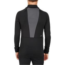 Freshwarm Children's Ski Underwear Top - Black