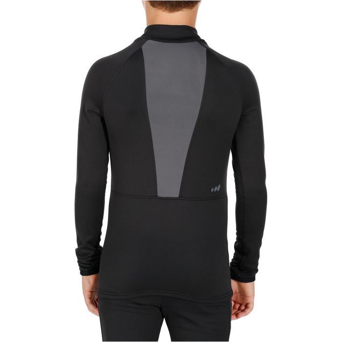 Sous-vêtement de ski enfant FRESHWARM haut noir