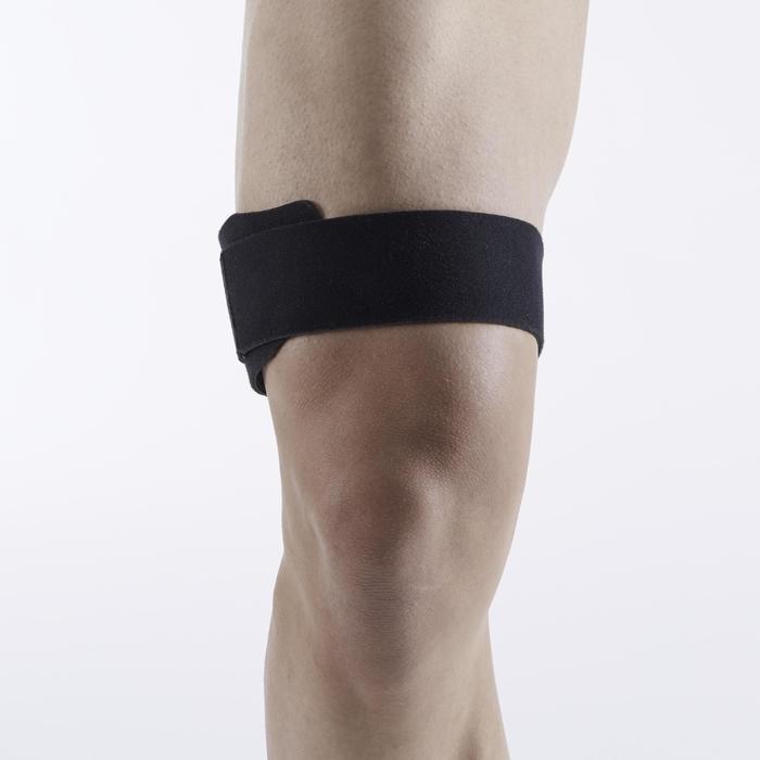 ITB STRAP de maintien du genou gauche/droite pour homme/femme noir