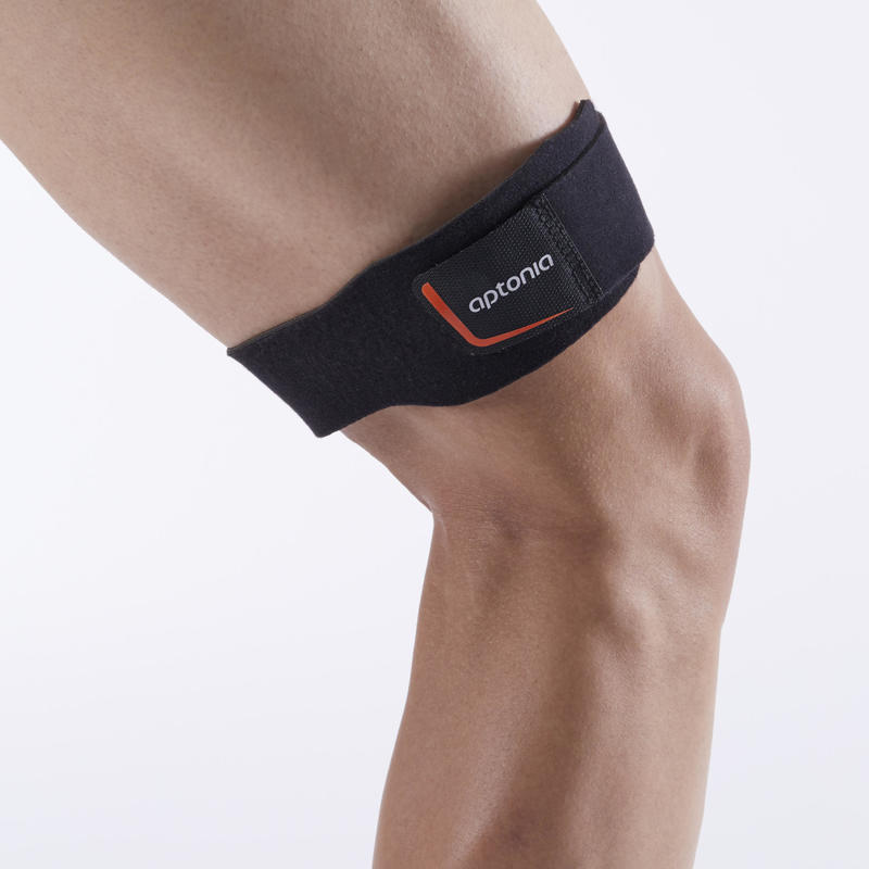 ITB Men's/Women's Left/Right Supportive Knee Strap - Hitam