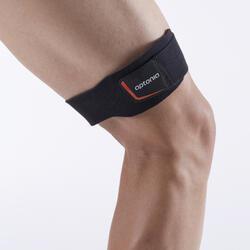 ITB STRAP de sujeción rodilla izquierda/derecha para hombre/mujer negro