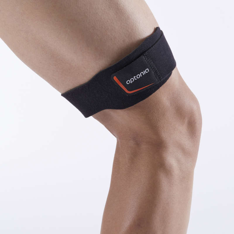JOINT / MUSCLE SUPPORTS Basketball - ITB Support Strap - Black TARMAK - Basketball