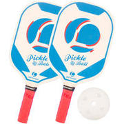 SET ZA PICKLEBALL 2 REKETA PLAVI