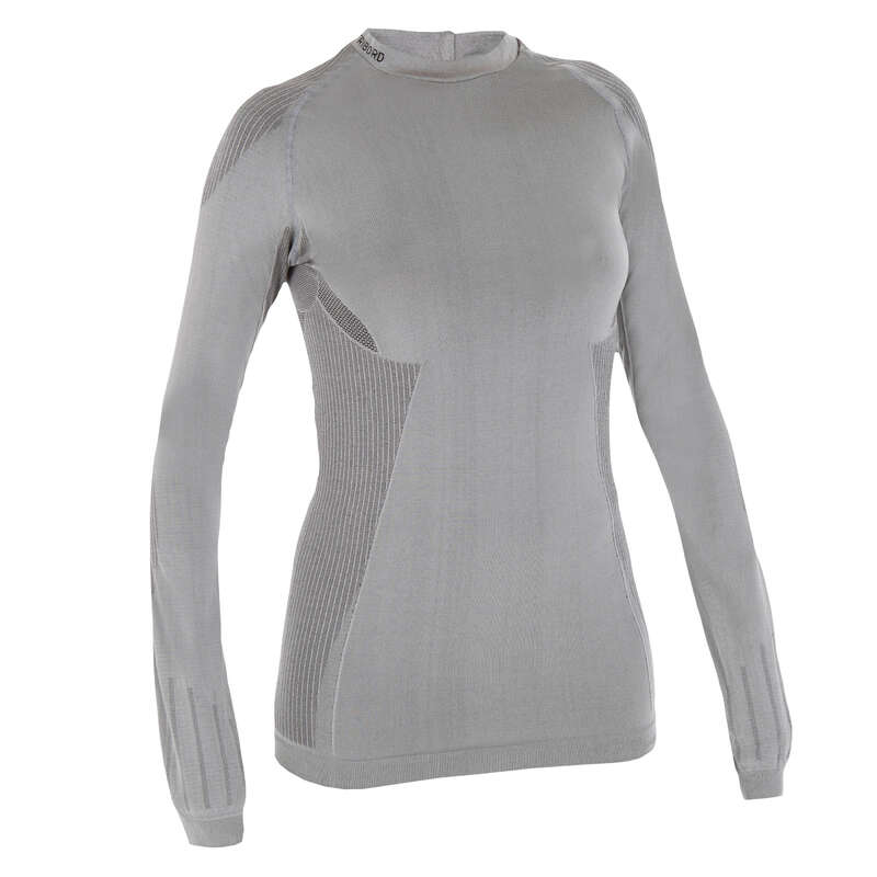 REGATTA WARM WEATHER WOMAN CLOTHES Sailing - 500 Women's Sailing Long Sleeve T-Shirt TRIBORD - Sailing Clothing