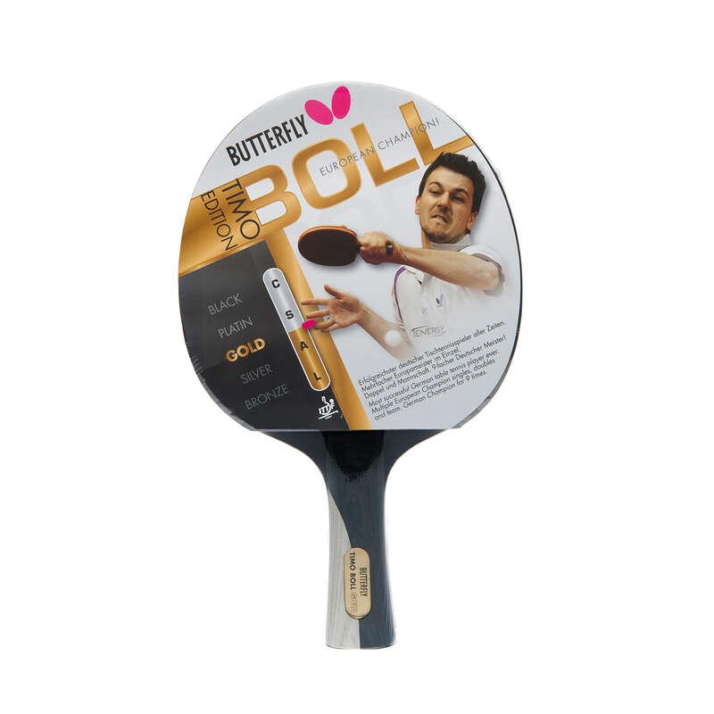 MASA TENİSİ RAKETLERİ -  ORTA SEVİYE Tenis - Timo Boll Gold raket BUTTERFLY - Masa Tenisi