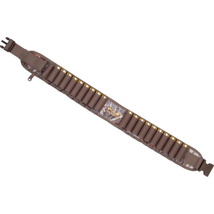Cartouchière chasse calibre 12 camouflage marron - 1056638