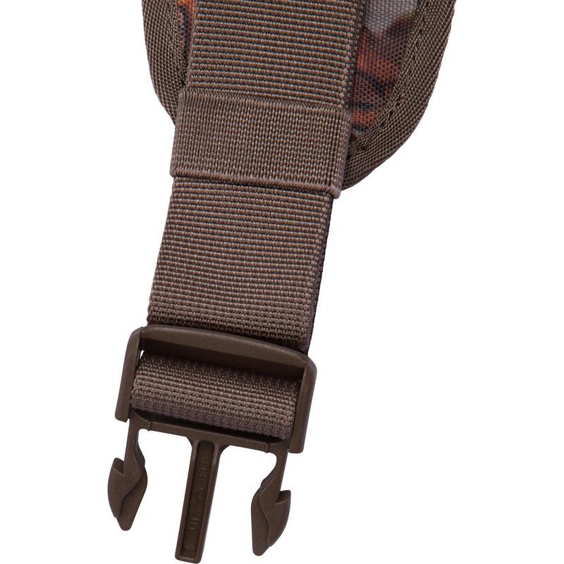 Cartouchière chasse calibre 12 camouflage marron