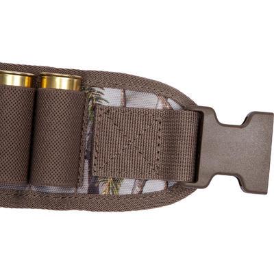 12 gauge cartridge belt - brown camouflage