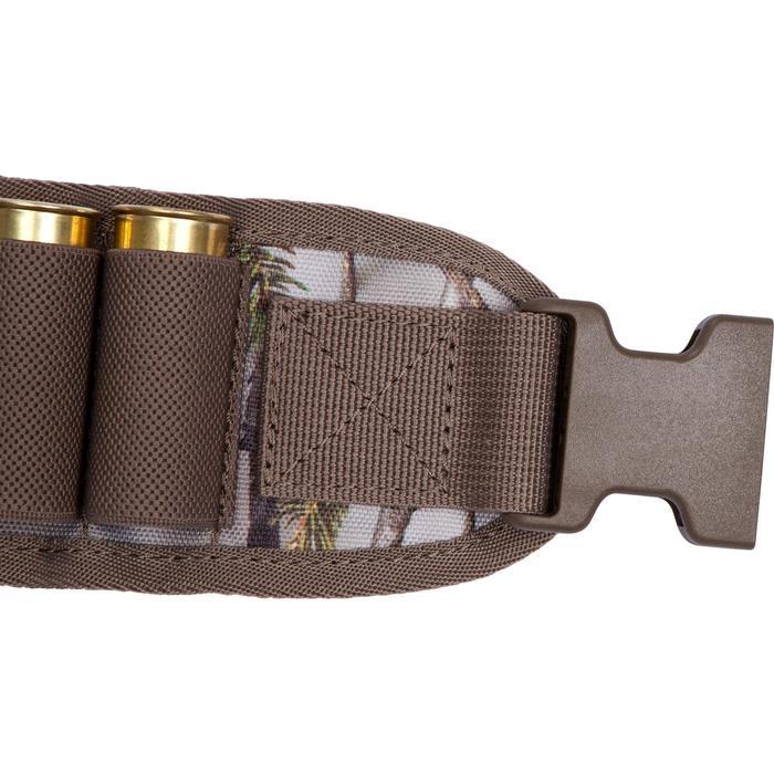 Cartouchière chasse calibre 12 camouflage marron - 1056643