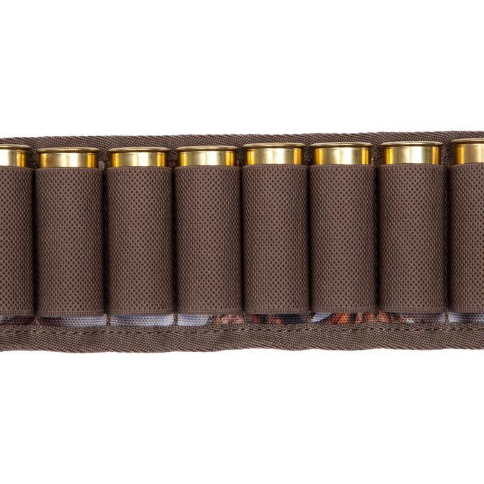 Cartouchière chasse calibre 12 camouflage marron - 1056645