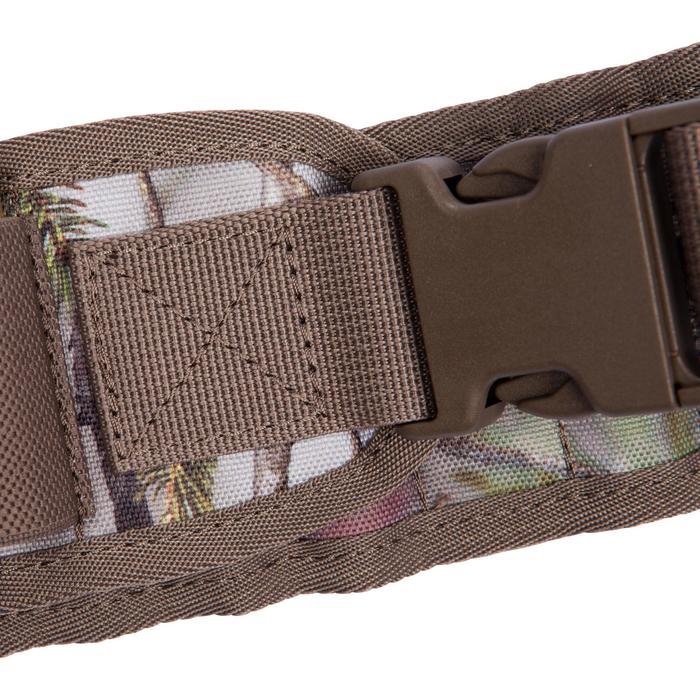 Cartouchière chasse calibre 12 camouflage marron - 1056646
