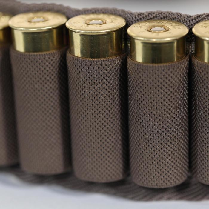 Cartouchière chasse calibre 12 camouflage marron - 1056650